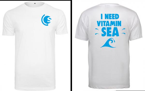 T-Shirt Vitamin Sea weiß