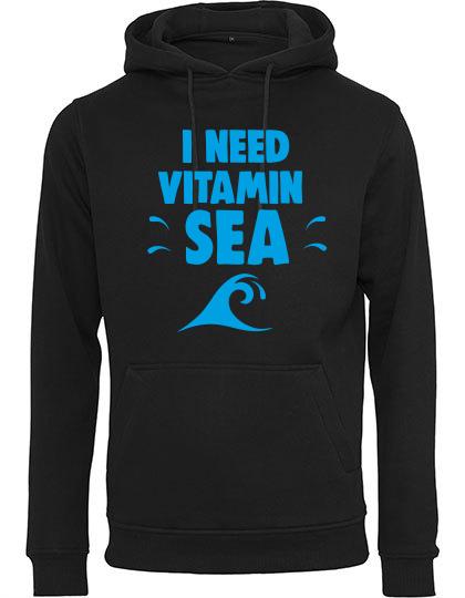 Hoodie Vitamin Sea schwarz