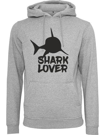 Hoodie Shark Lover grau