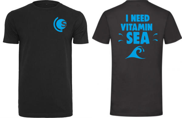 T-Shirt Vitamin Sea schwarz