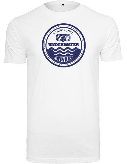 T-Shirt Underwater Adventure weiß