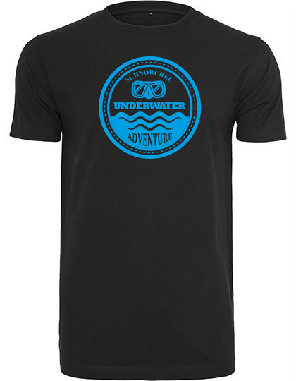 T-Shirt Underwater Adventure schwarz